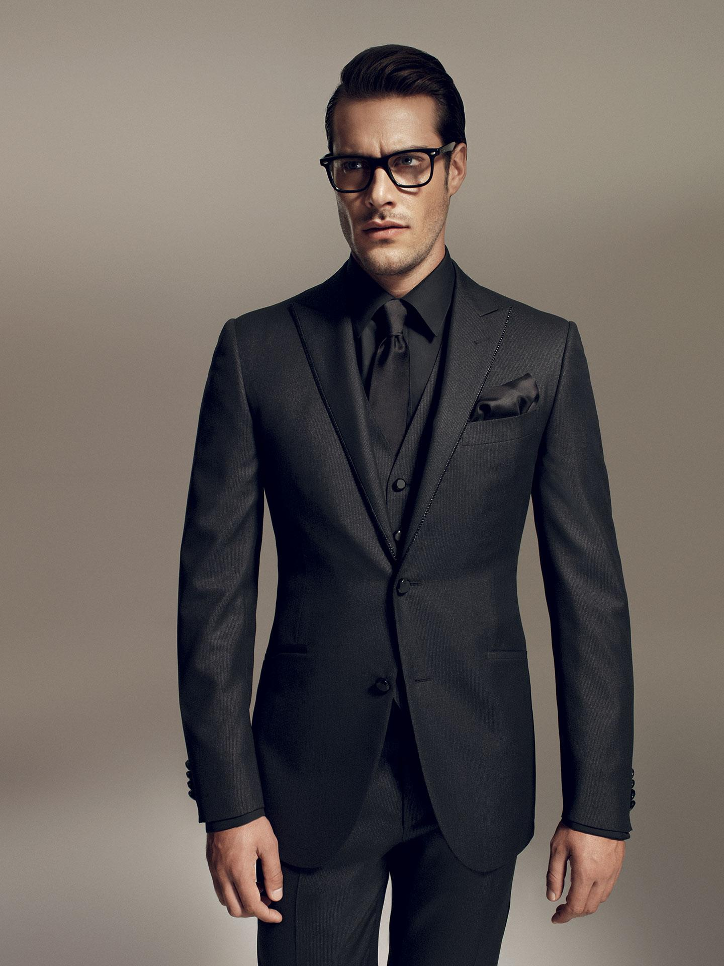 Matching Shirt For Black Suit - Go Suits